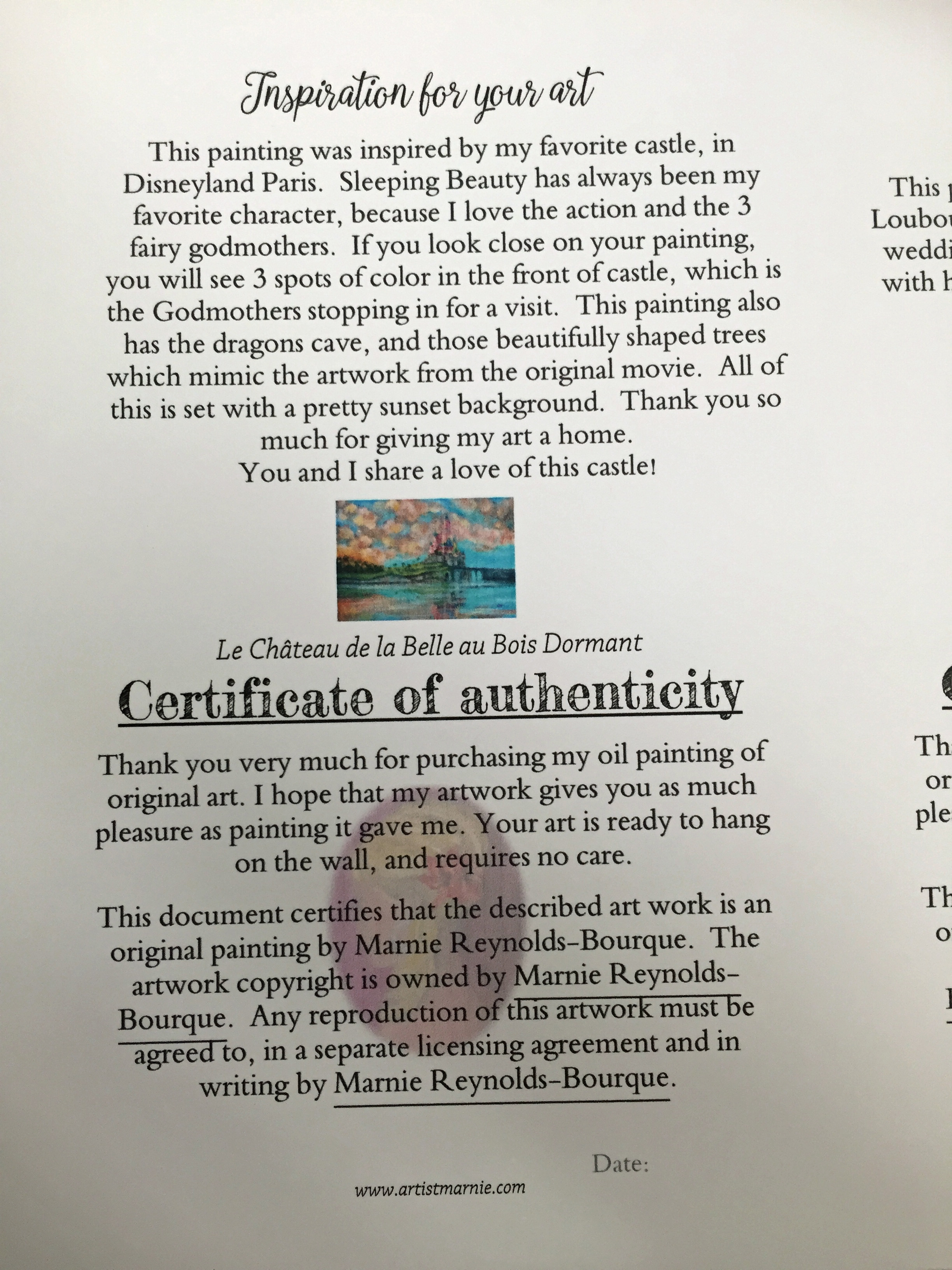 Do you attach the certificate of authenticity coa on the back or certg2448x3264 159 mb yadclub Choice Image